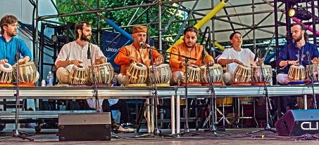 Chatterjee drummers