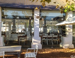 "World-class restaurant ""Babel"" - at Babylonstoren farm."