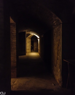 Underground tunnels of the Battery