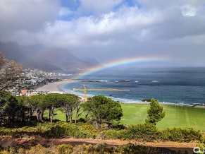 Camps Bay rainbow