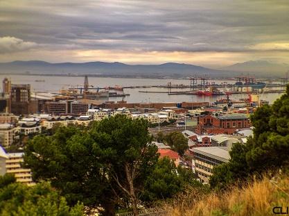 Cape Town harbour.
