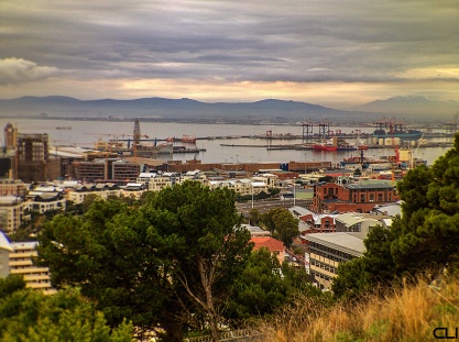 Cape Town harbour.