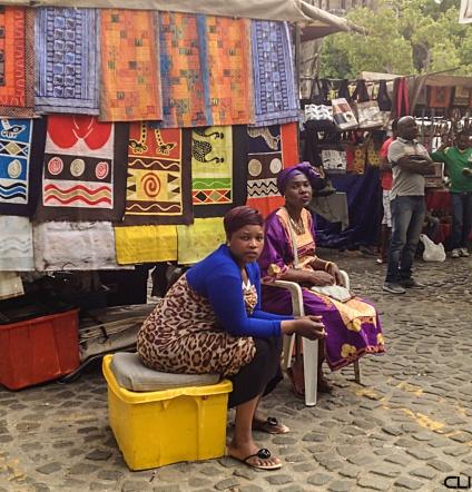 Ladies of Greenmarket Square
