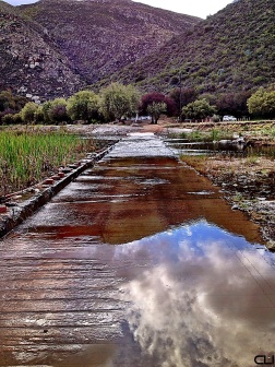 Headed into the Nature Reserve in Montagu.