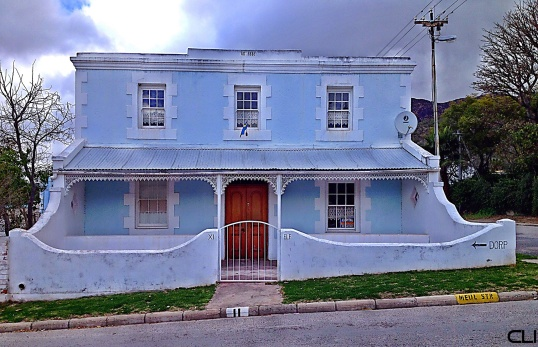 County house in Montagu (Dorp is a small village)