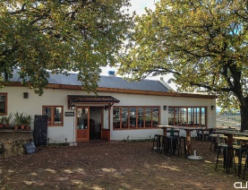 Blackstone's Kitchen, on wine farm in Paarl.