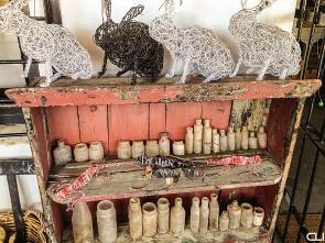 Wire rabbits