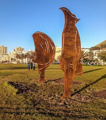 Rhino-saurus sculpture pieces