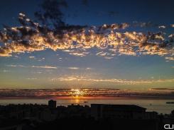 Power of sunset