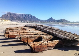 Cape Town from Milnerton beach.