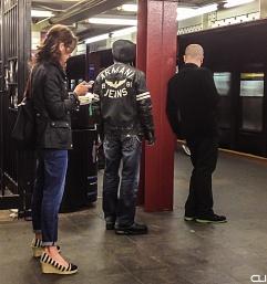 subway station, Manhattan