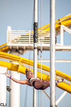 free fall, Santa Monica Pier