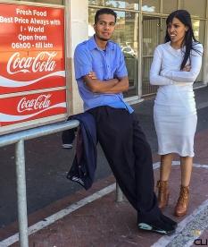 bus stop, Cape Town